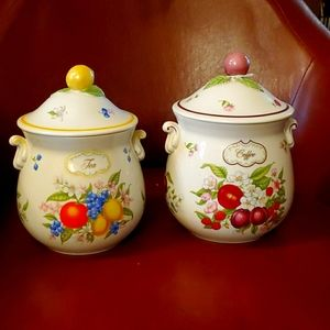 The Lenox Orchard Canisters